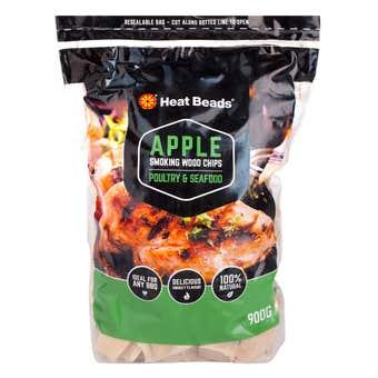Heat Beads Smoking Wood Chips 900g