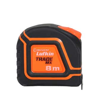 Crescent Lufkin Trade MX Tape Measure 8m x 25mm