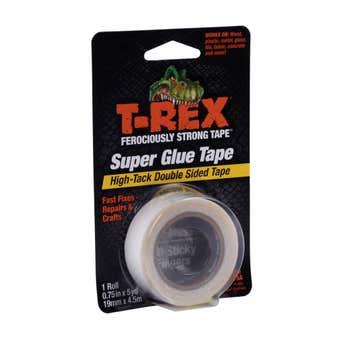 T-Rex Double Sided Super Glue Tape 18mm x 4.5m