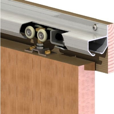 Cowdroy Track Door Sliding Side Fix 915mm