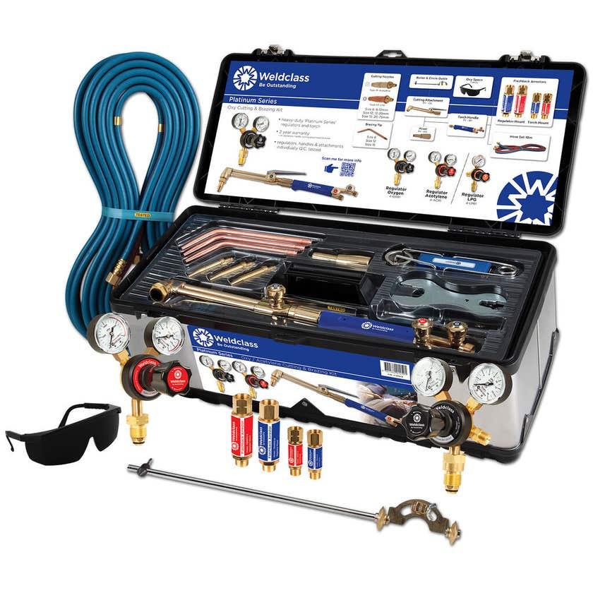 Weldclass Platinum Oxy Acetylene Gas Kit