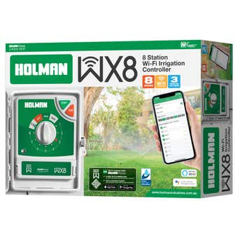 Holman 8 Station Outdoor Watering Wi-Fi Controller
