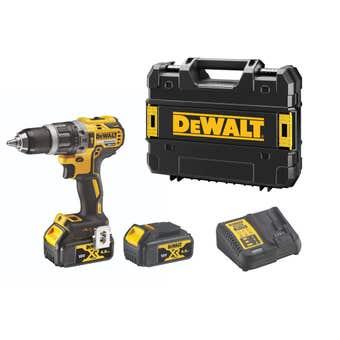 Dewalt 18V XR 4.0Ah Brushless Hammer Drill Kit DCD796M2-XE