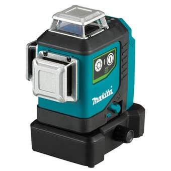 Makita 12V Max 3 x 360° Line Green Laser