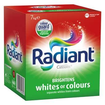Radiant Whites and Colours Laundry Powder 7kg