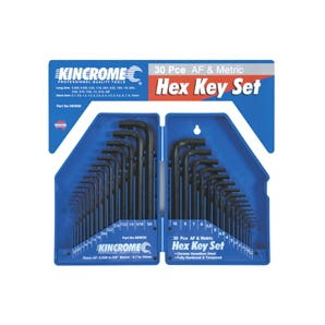 Kincrome 30Pce Hex Key Wrench Set