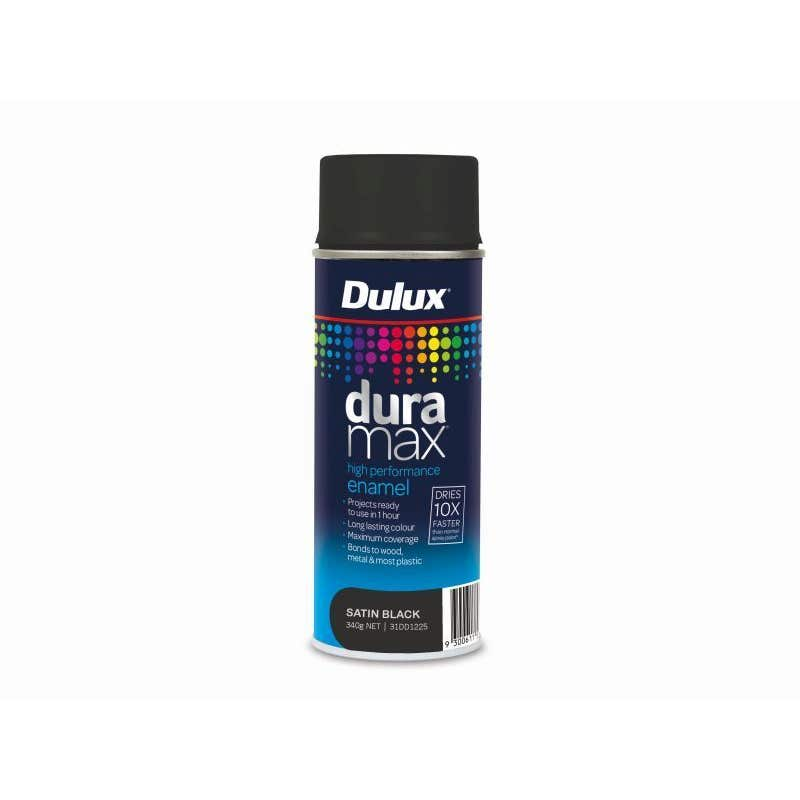 Dulux Duramax 340G Satin Black