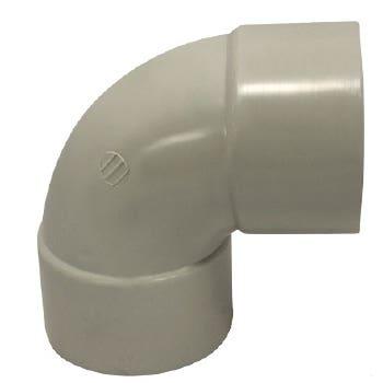 Holman PVC DWV Bend F&F Plain 65mm 88 Deg