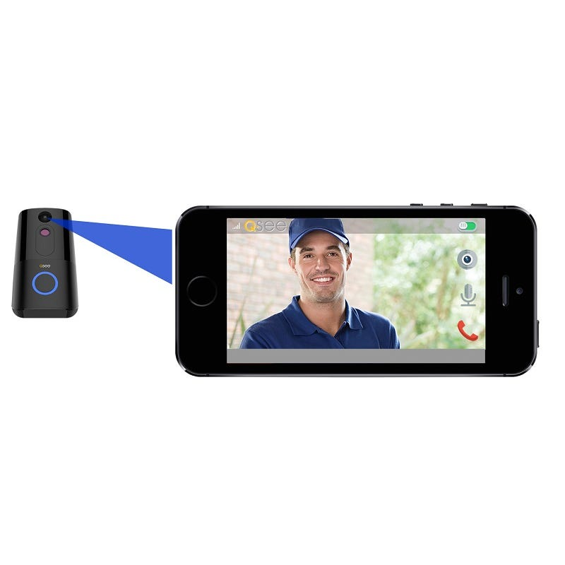 Q-See HD Video Intercom Doorbell 720p