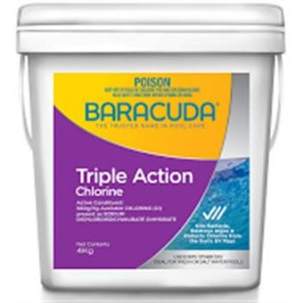 Baracuda Triple Action Chlorine 4KG