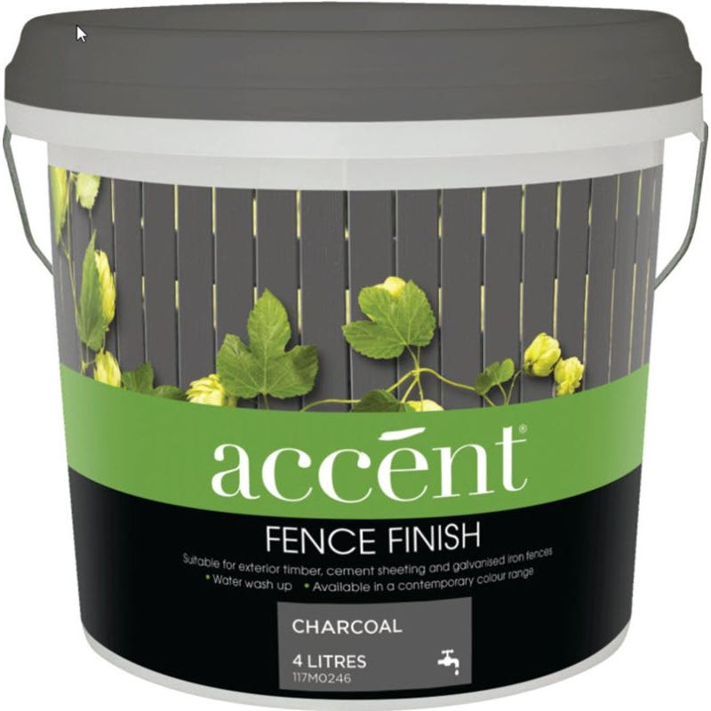 Accent® Fence Finish Charocal 4L