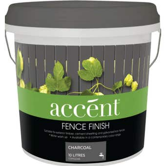 Accent® Fence Finish Charcoal 10L