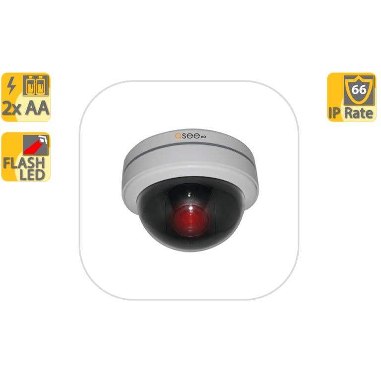 Q-See Dome Decoy Camera