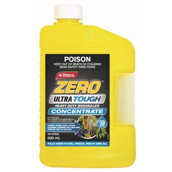 Yates Zero Ultra Tough Weedkiller Concentrate 500ml