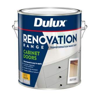 Dulux Renovation Range Cabinet Doors Gloss Deep Base 2L