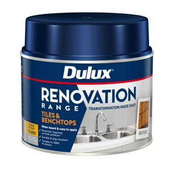 Dulux Renovation Range Tiles & Benchtops Gloss Deep Base 1L