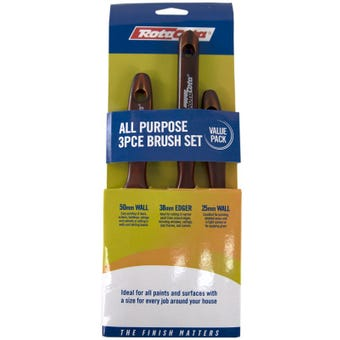 RotaCota All Purpose Brush Set 3 Pack