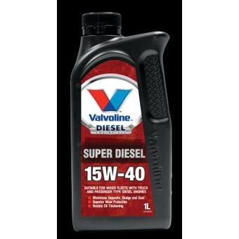 Valvoline 1L 15W-40 Super Diesel Motor Oil