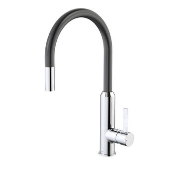 Dorf Vixen Retractable Sink Mixer Black