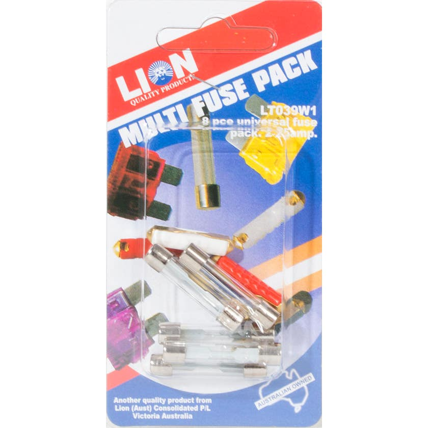 Lion Multi Fuse 8 Pack