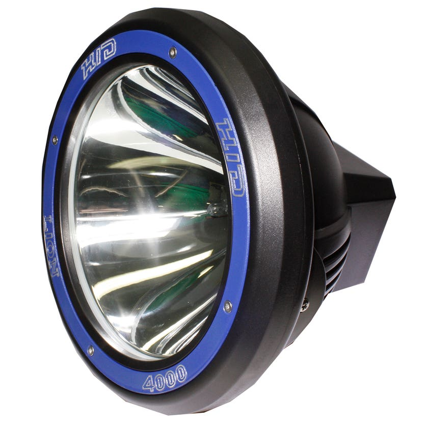 "Driving Light 9"" 55w HID LIGHT 4000"