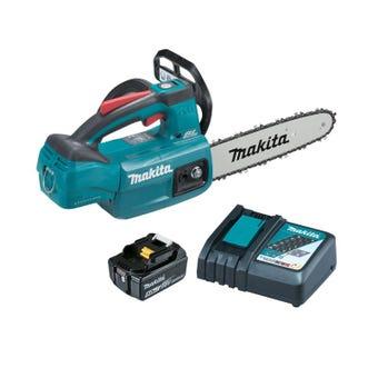 """Makita 18V Brushless 250mm 10"""" Chainsaw Kit DUC254RT"""