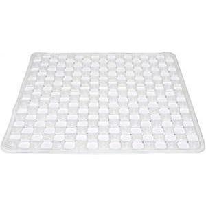 Supertex PVC Shower Mat Clear 500 x 510mm