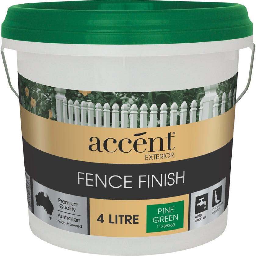 Accent® Fence Finish Pine Green 4L