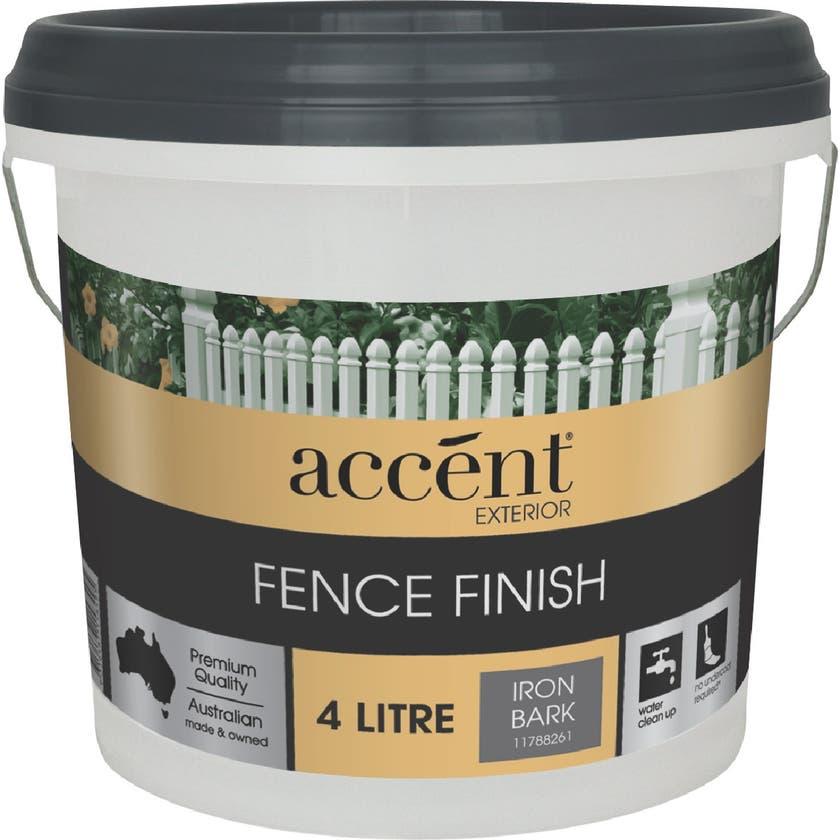 Accent® Fence Finish Iron Bark 4L