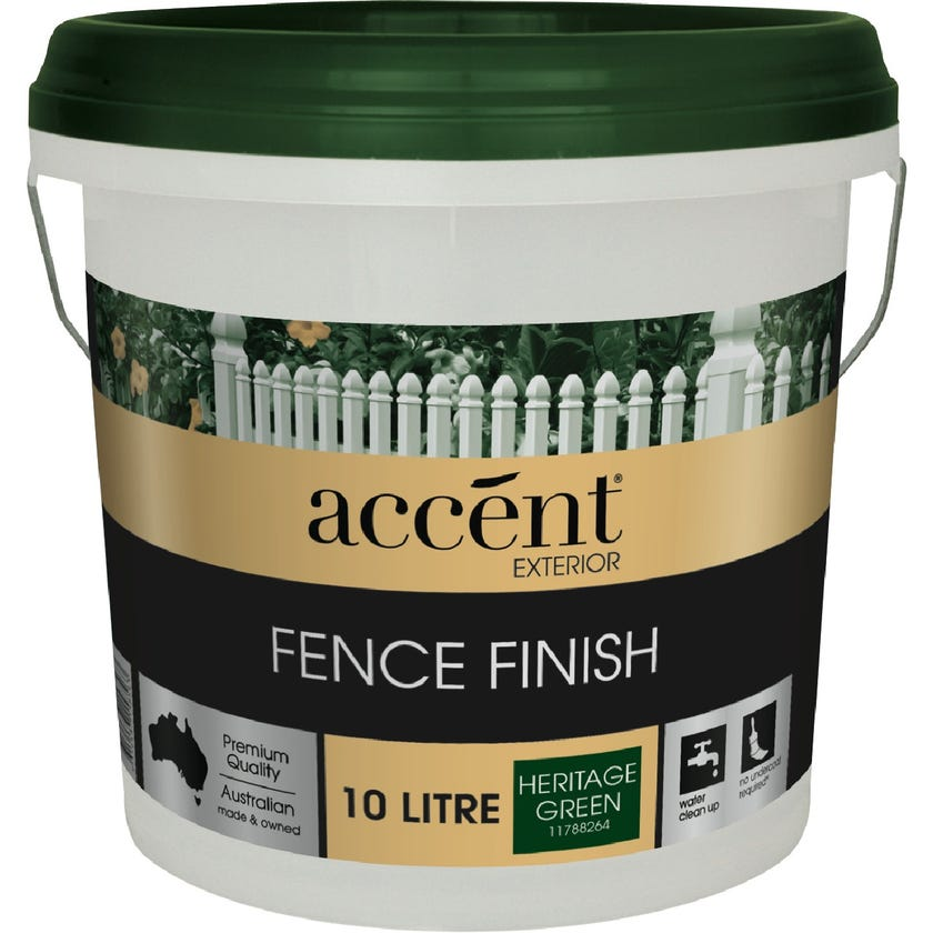 Accent® Fence Finish Heritage Green 10L