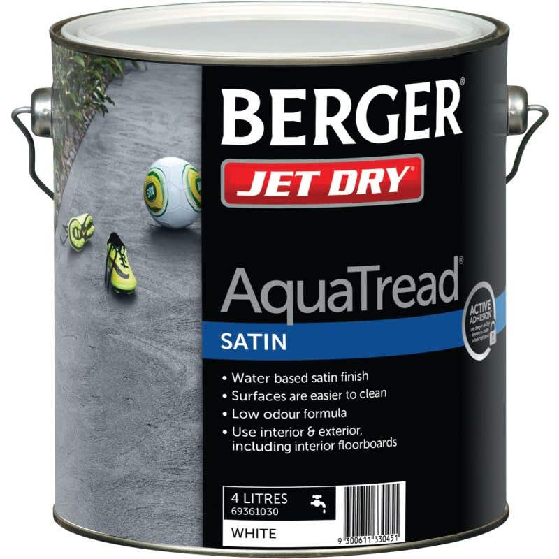 Berger Jet Dry AquaTread 4L