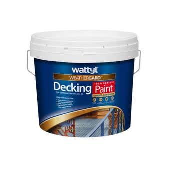 Wattyl Weathergard Deck Paint 10L White