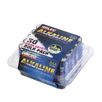 Arlec Alkaline Battery AAA - 30 Pack
