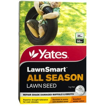 Yates LawnSmart All Season Lawn Seed 1kg