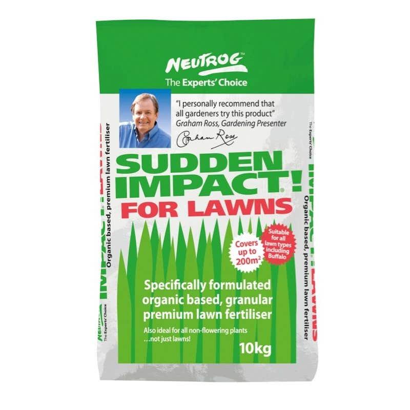 Neutrog Sudden Impact Fertiliser for Lawns 10kg