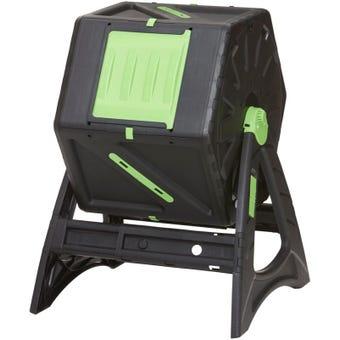 Tumbler Composter 105L Black