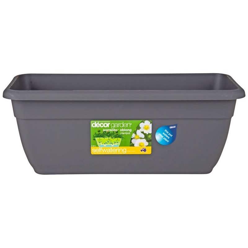 Decor Oblong Self Watering Pot 450mm