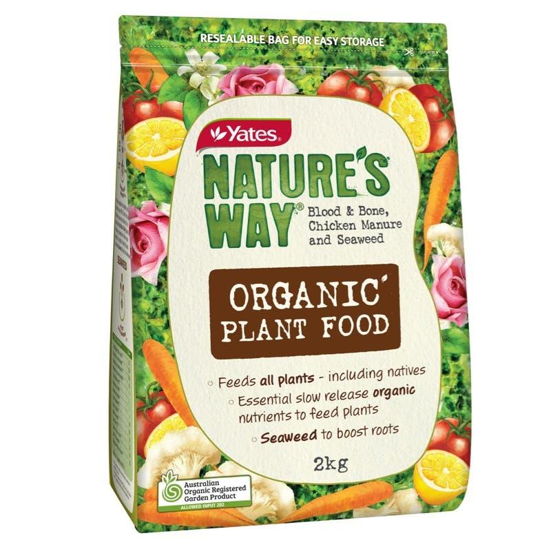 Yates Nature's Way 2Kg Organic Plant Food