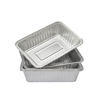 Grillman Small Aluminum BBQ Tray 5 Pack