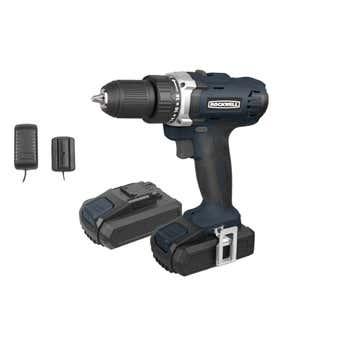 Rockwell 18V Li-Ion Drill Driver Kit