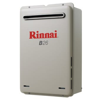 Rinnai Continuous Hot Water System Preset 50C LP B26