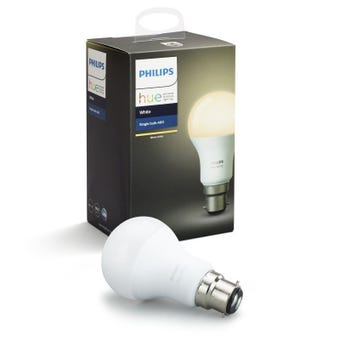 Philips Hue White Single 9.5W A60 Globe