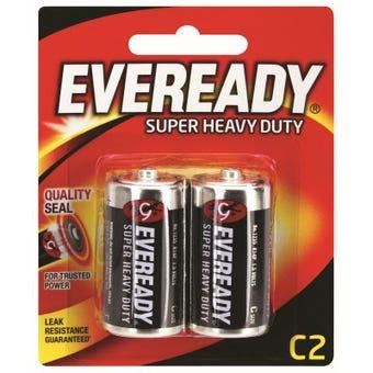 Eveready Super Heavy Duty Battery C