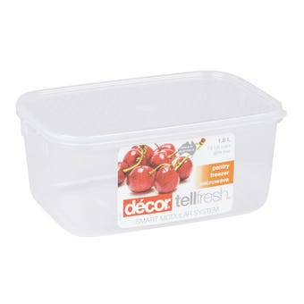 Decor Tellfresh Oblong Storer 1.8L