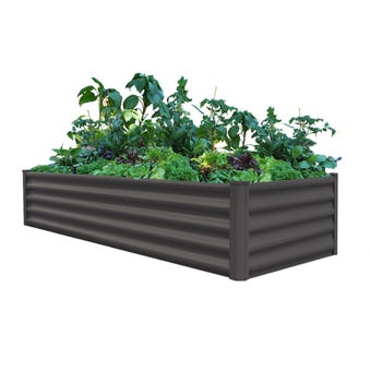 Organic Garden Co Rectangular Raised Garden Bed 200 x 50 x 41cm