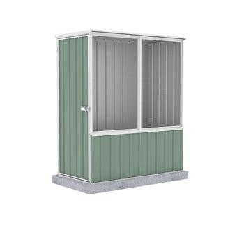 Absco Chicken Coop Flat Roof 1.52 x 0.78 x 1.80m