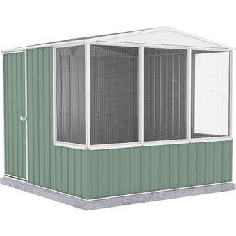 Absco Chicken Coop Gable Roof 2.26 x 2.22 x 2.00m