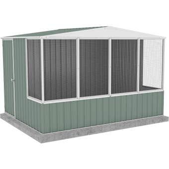Absco Chicken Coop Gable Roof 3.00 x 2.22 x 2.06m