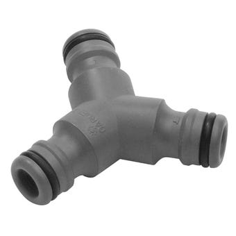 GARDENA 3 Way Hose Coupling 13mm