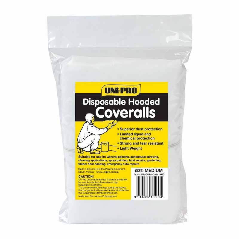 Uni-Pro Disposable Hooded Coveralls
